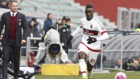'Balotelli does not deserve Milan stay'