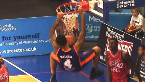 Walker scores for Worcester Wolves