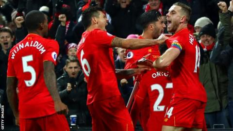 Liverpool are 14 games unbeaten in all competitions