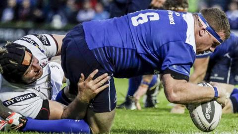 Leinster beat Ulster in the Pro12 semi-final at the RDS