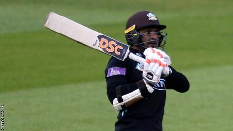 Kumar Sangakkara hits out against Glamorgan in Cardiff