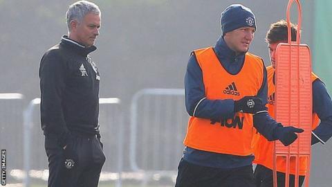 Mourinho Schweinsteiger