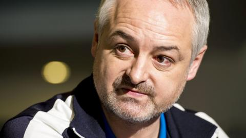 Dundee United's new manager Ray McKinnon