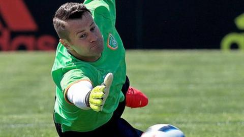 Shay Given won 134 caps for the Republic of Ireland in a 20-year international career