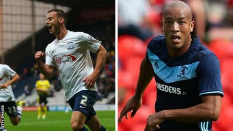 Preston sign Sheffield Wednesday's Marnick Vermijl & Middlesbrough's Alex Baptiste