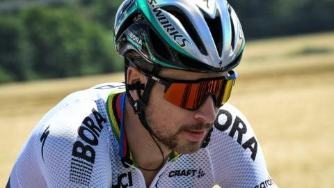 Reigning champion Peter Sagan