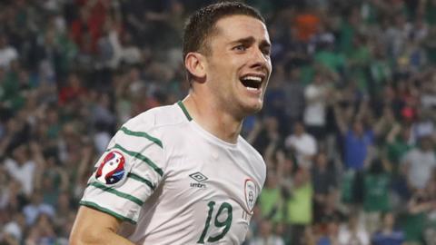 Republic of Ireland goalscorer Robbie Brady