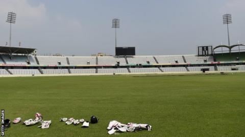 The Sher-e-Bangla cricket stadium