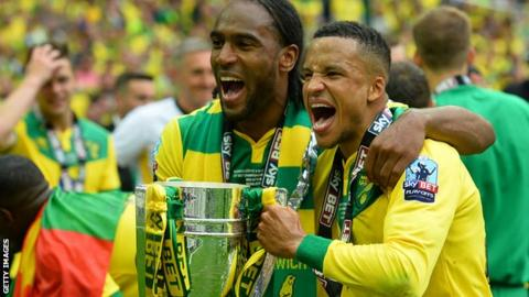 Cameron Jerome and Martin Olsson