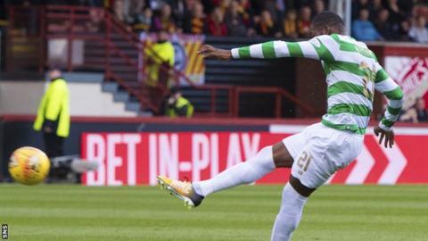 Celtic midfielder Olivier Ntcham