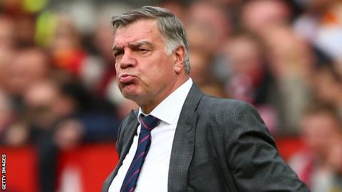 Sam Allardyce would 'consider' Everton job