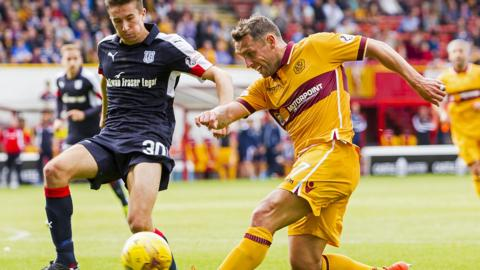 Dundee visit Fir Park on Saturday