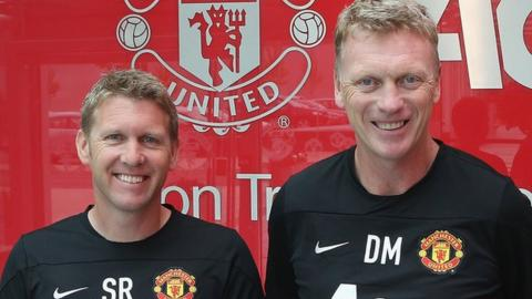 Steve Round first worked with David Moyes at Everton, before following him to Old Trafford
