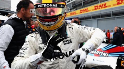 Hamilton dedicates record 69th pole position to Schumacher