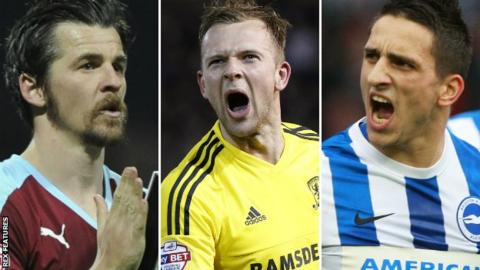 Joey Barton, Jordan Rhodes, Anthony Knockaert