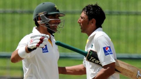 Misbah-ul-Haq & Younis Khan