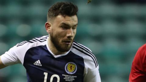 Scotland's Robert Snodgrass