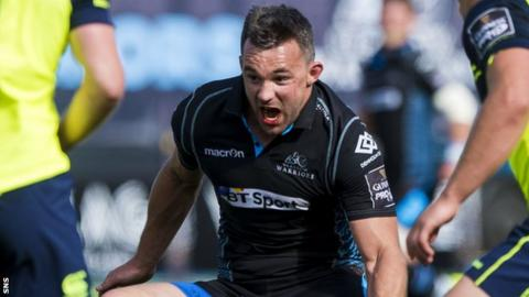 Glasgow Warriors flanker Simone Favaro
