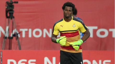 Sundowns sign Ghana goalkeeper Razak Brimah