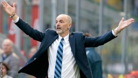Former Inter coach Pioli appointed to take over Fiorentina