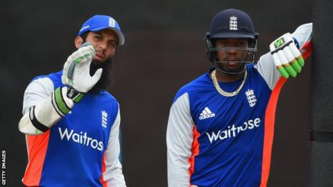 Moeen Ali and Chris Jordan