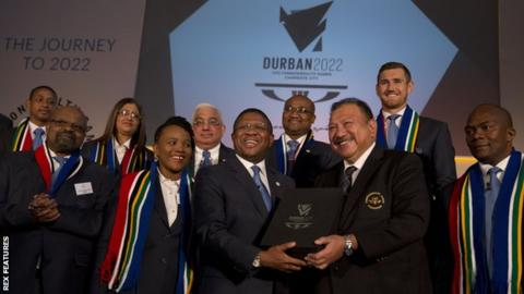 Durban stripped of 2022 Commonwealth Games