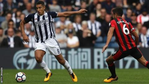 Jake Livermore given extended break by West Bromwich Albion