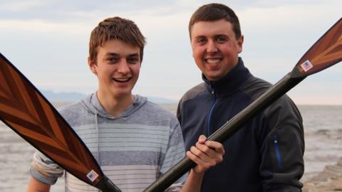 Joseph Gagnon and Brian Conville