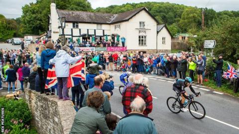 Geraint Thomas Tour of Britain picture