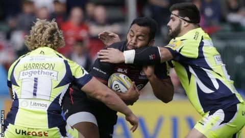 Vunipola injured as Saracens thrash Sale