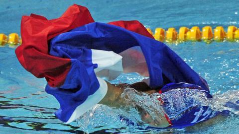 Russia swimming