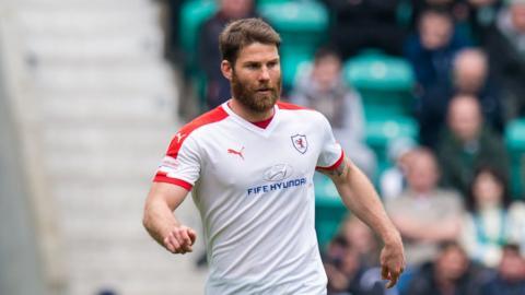 Craig Barr netted the opener for Raith Rovers against Morton