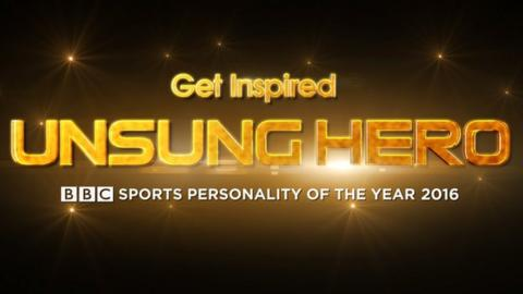 2016 BBC Sports Personality of the Year Unsung Hero Logo