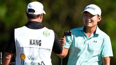 Kang leads in Houston as major champions miss cut