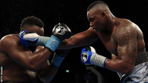 Whyte last fought when when he out-pointed Dereck Chisora in December
