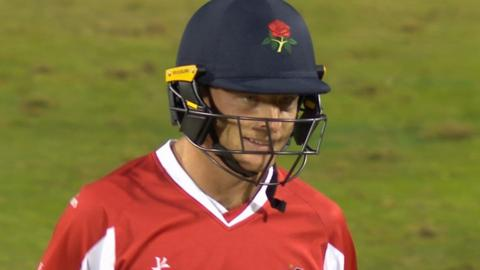 Jos Buttler reacts