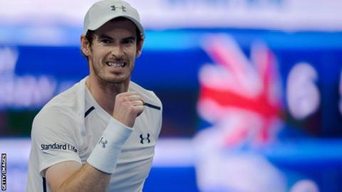 Andy Murray has won his only meeting with Kyle Edmund