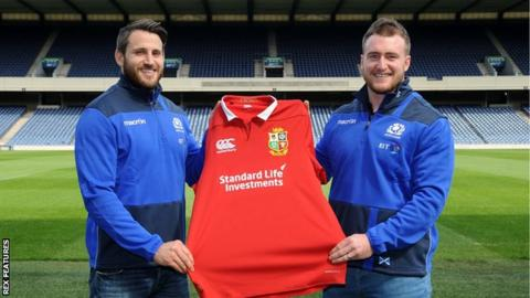Tommy Seymour and Stuart Hogg