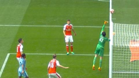 Manchester City's disallowed goal