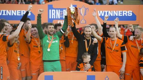 Dundee United are the Challenge Cup holders
