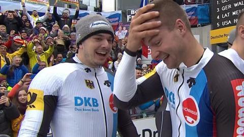 Germany celebrate double gold