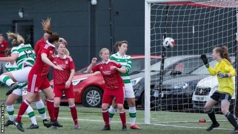 Courtney Whyte heads home Georgie Rafferty's corner kick
