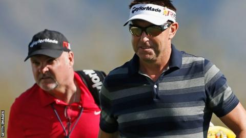 Robert Allenby and Mick Middlemo