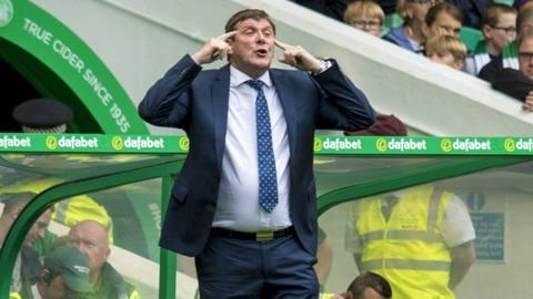 Tommy Wright hits back at 'paranoid' Pedro Caixinha