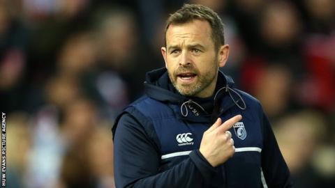 Cardiff Blues coach Danny Wilson