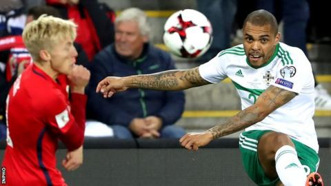 Northern Ireland seal World Cup play-off place before defeat in Norway