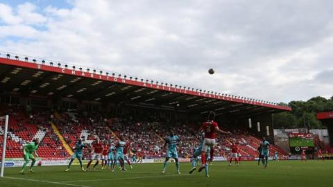 Charlton football ground