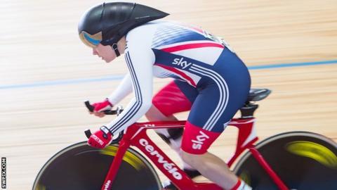 GB Para-cyclist Megan Giglia