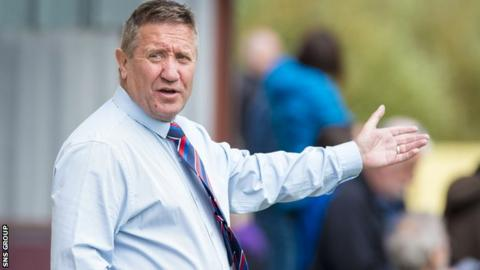 Inverness Caledonian Thistle manager John Robertson