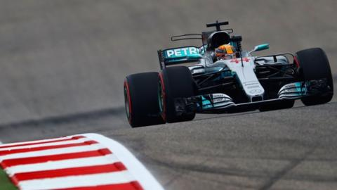 Lewis Hamilton fastest in US GP practice
